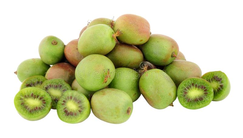 Grupo de Kiwi Berries foto de stock