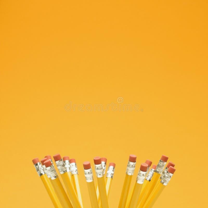 Grupo de lápis. fotografia de stock royalty free