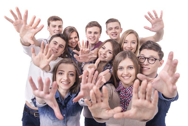 Grupo de la gente foto de archivo
