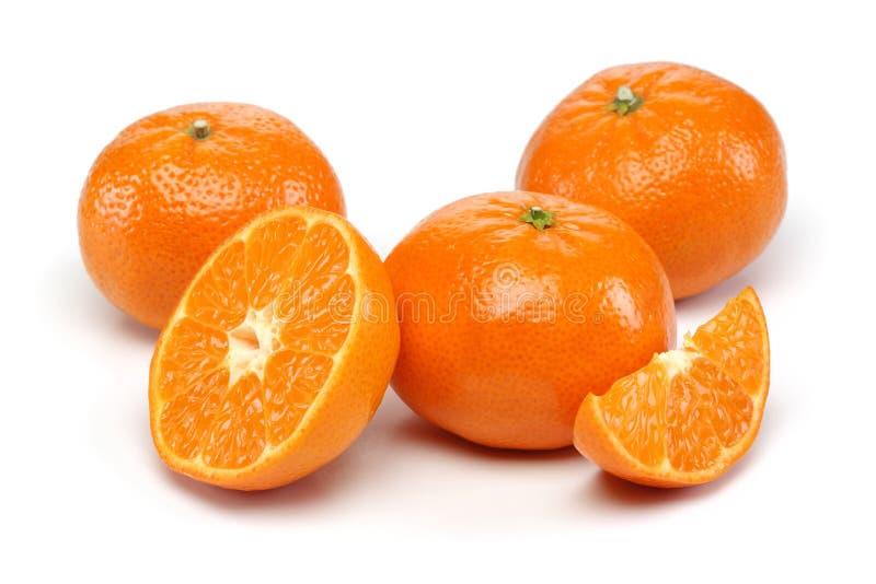 Grupo de la mandarina foto de archivo