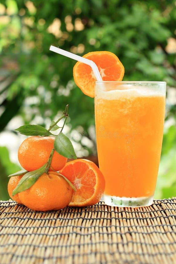 Grupo de laranja e de batido imagens de stock