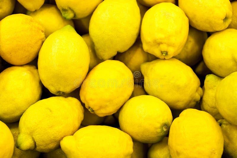 Grupo de limones imagen de archivo
