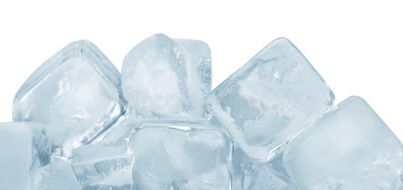 Grupo de los cubos de hielo imagen de archivo