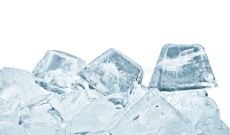 Grupo de los cubos de hielo imagen de archivo libre de regalías
