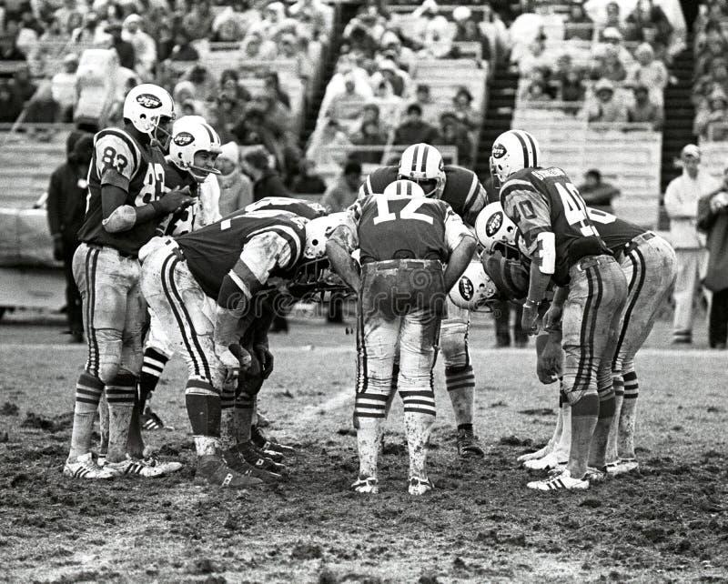 Grupo de los New York Jets fotos de archivo
