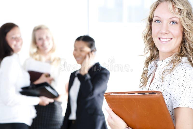 Grupo de mujeres de negocios imágenes de archivo libres de regalías