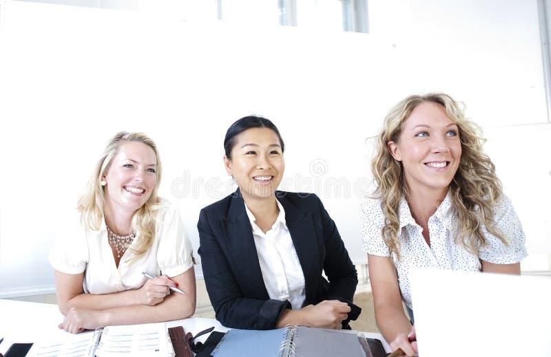 Grupo de mulheres de negócio fotografia de stock royalty free