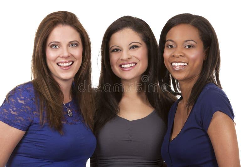 Grupo de mulheres ocasionais fotos de stock