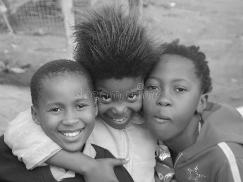 Grupo de niños jovenes imágenes de archivo libres de regalías