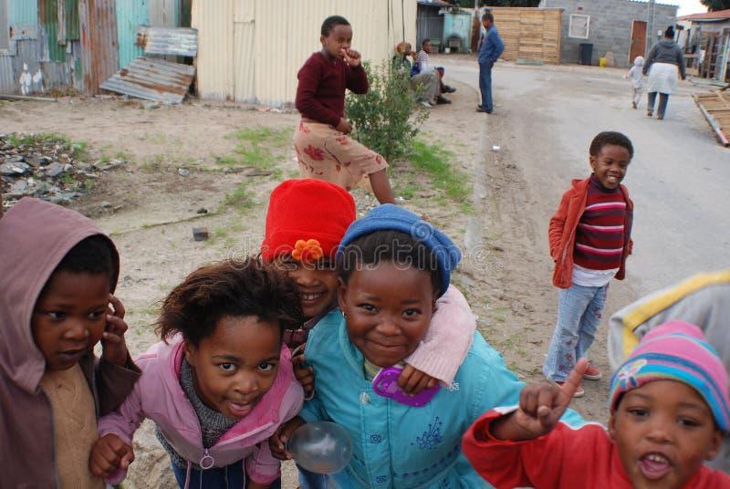 Grupo de niños jovenes fotos de archivo libres de regalías