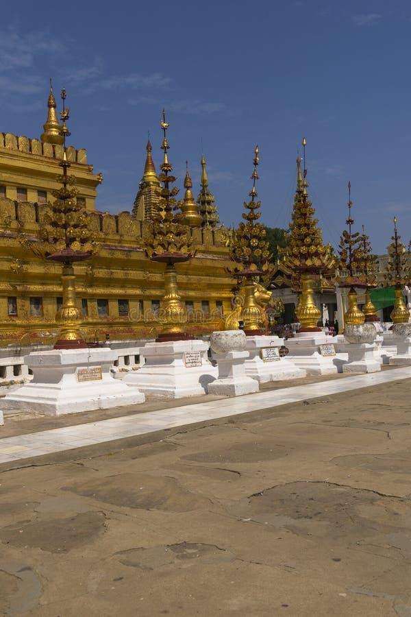 Grupo de pagode fotografia de stock royalty free