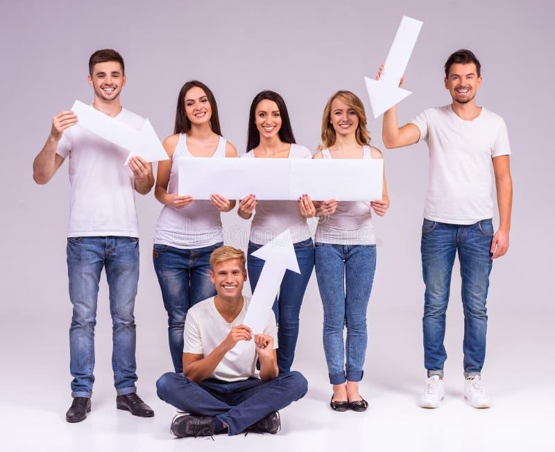 Grupo de pessoas imagens de stock royalty free