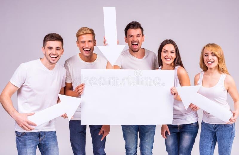Grupo de pessoas fotos de stock royalty free