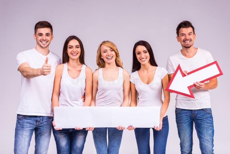 Grupo de pessoas imagem de stock