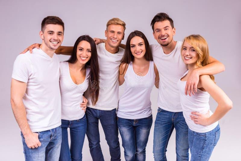Grupo de pessoas imagens de stock