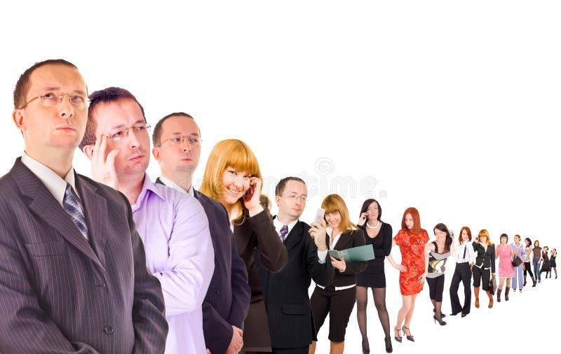 Grupo de pessoas isolado fotos de stock