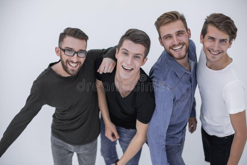 Grupo de povos da diversidade que estão junto em equipe imagem de stock