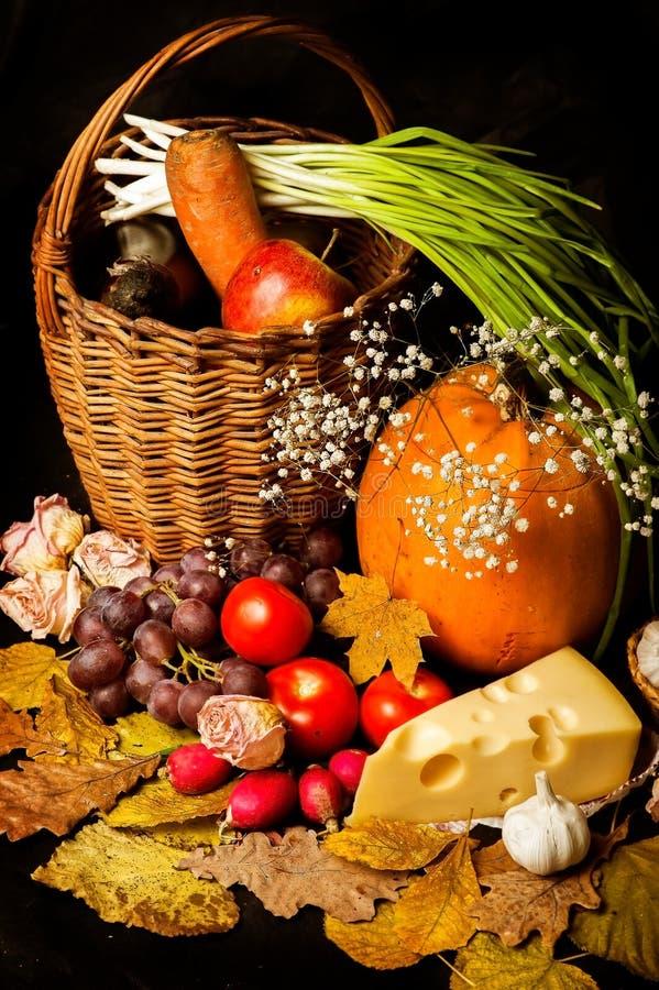 Grupo de produtos rural da leiteria natural - imagens de stock royalty free