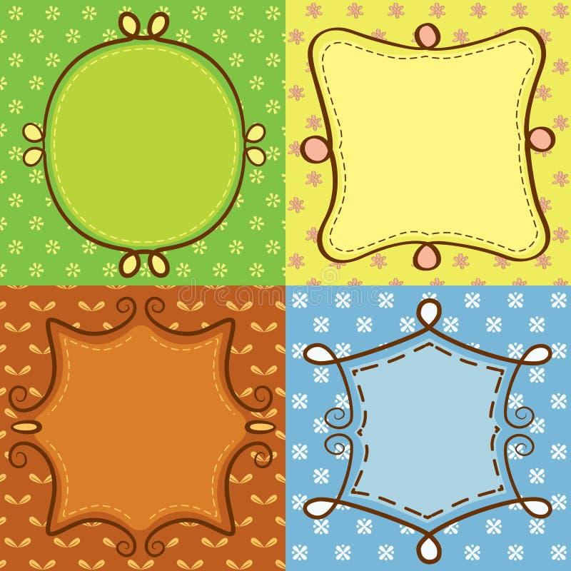 Download Quadro bonito colorido ilustração stock. Ilustração de aniversário - 29829533