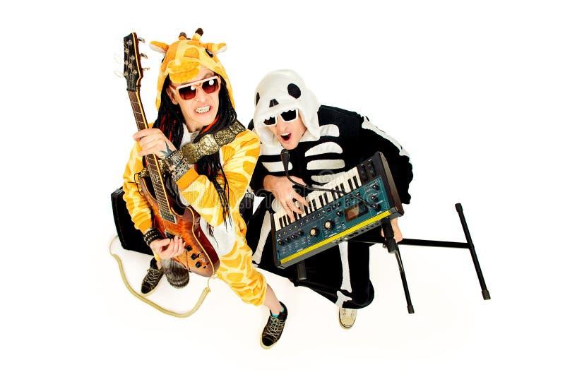 Grupo de rock imagens de stock royalty free