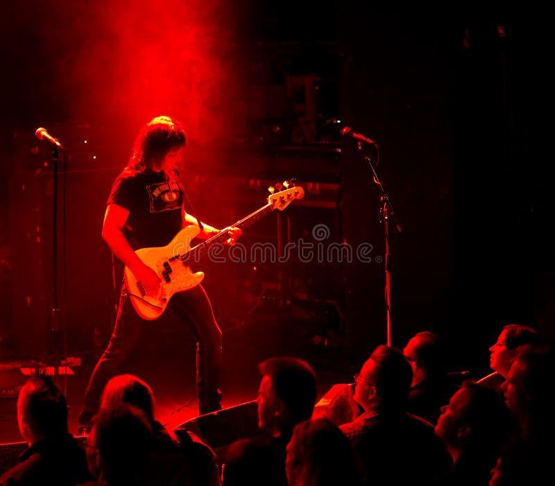 Grupo de rock americano Jason & os Scorchers foto de stock royalty free