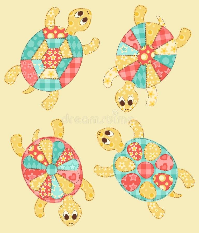 Grupo de tartarugas.