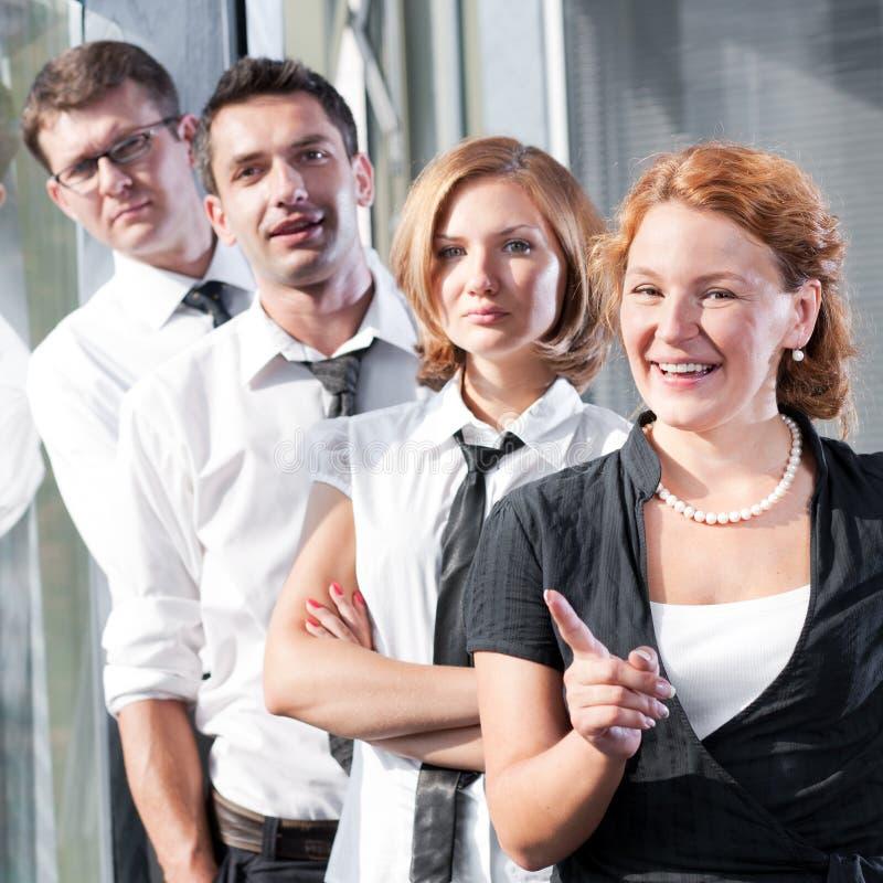 Grupo de trabajadores del officce fotos de archivo libres de regalías
