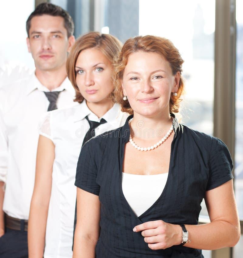 Grupo de trabajadores del officce foto de archivo