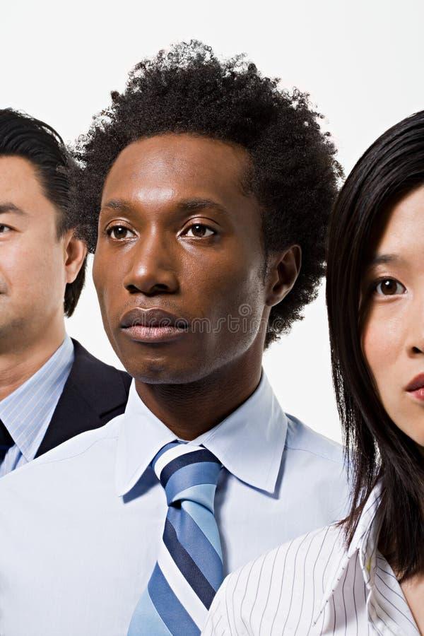 Grupo de trabalhadores de escritório imagem de stock