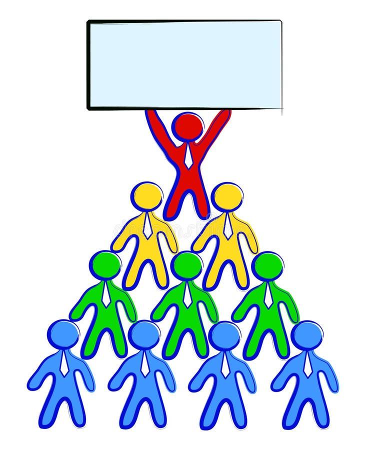 Grupo de trabalho ilustração do vetor
