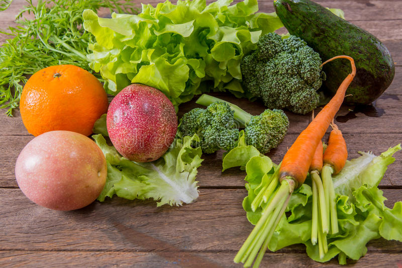 Grupo de vegetal imagens de stock