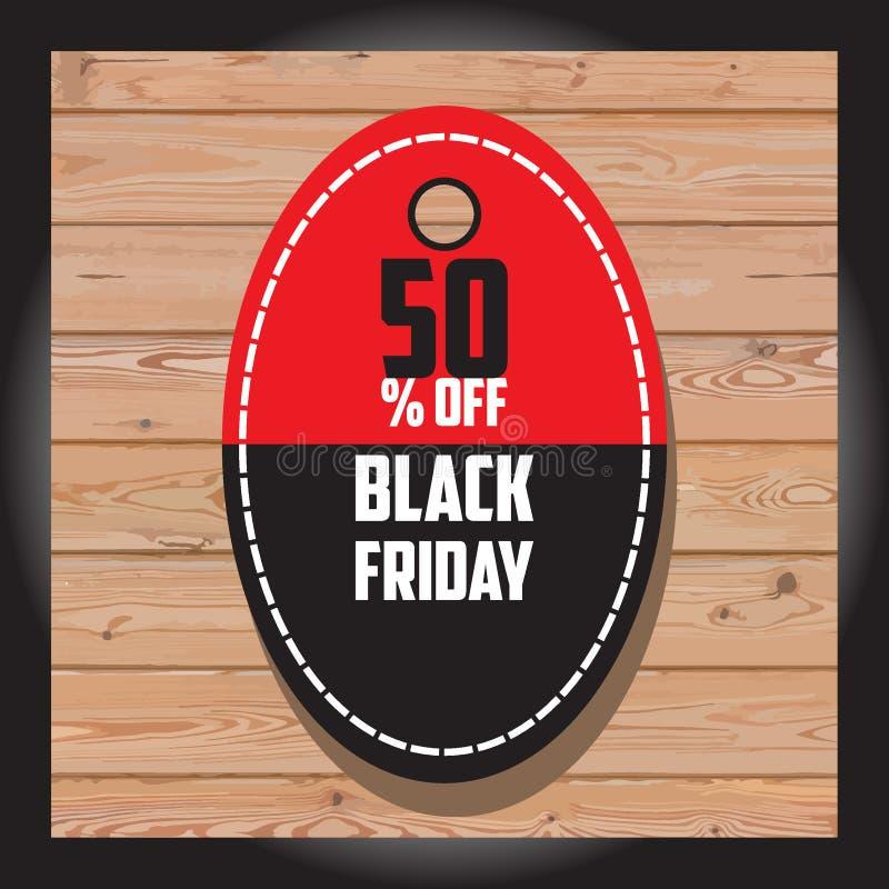Grupo de venda preta de sexta-feira Bandeira preta de sexta-feira Bandeira da venda disco imagens de stock royalty free