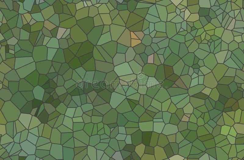 Grupo de vetor abstrato colorido do mosaico da transparência ilustração stock