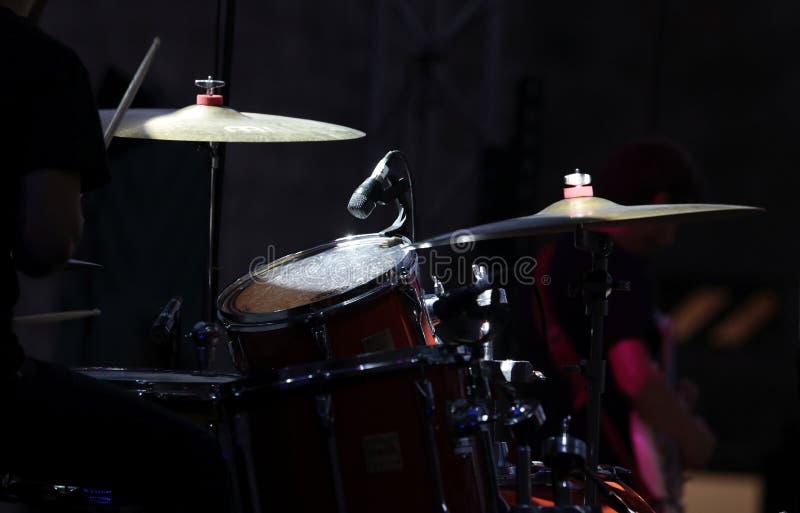 Grupo do baterista fotos de stock royalty free