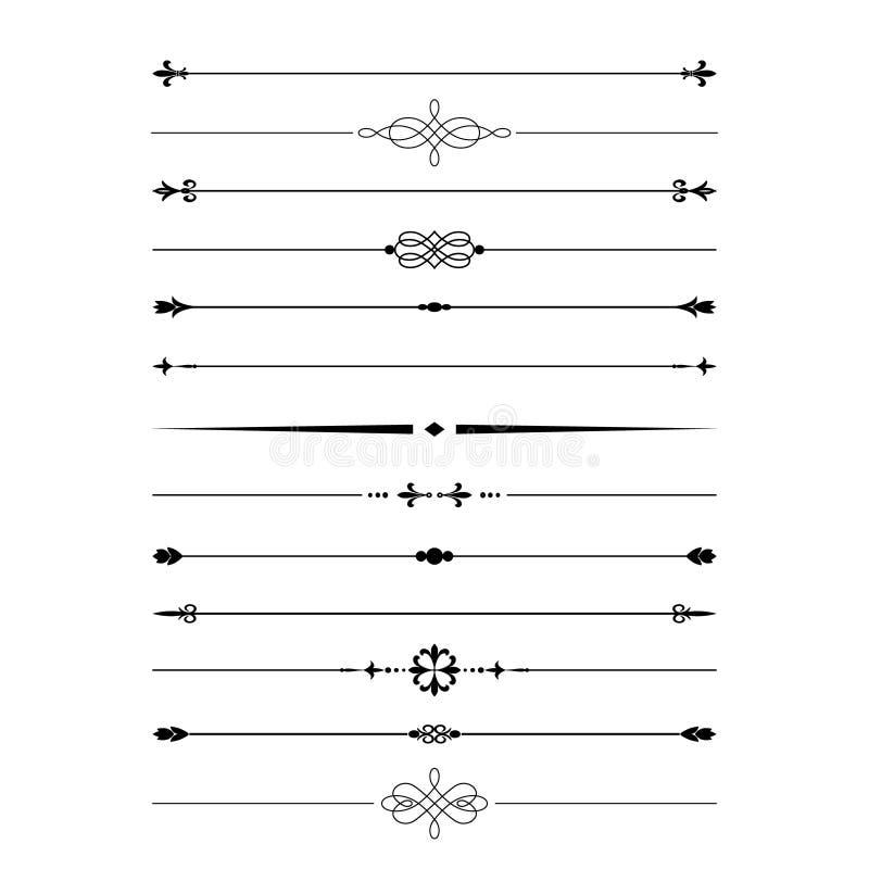 Grupo do divisor isolado no branco ilustração royalty free