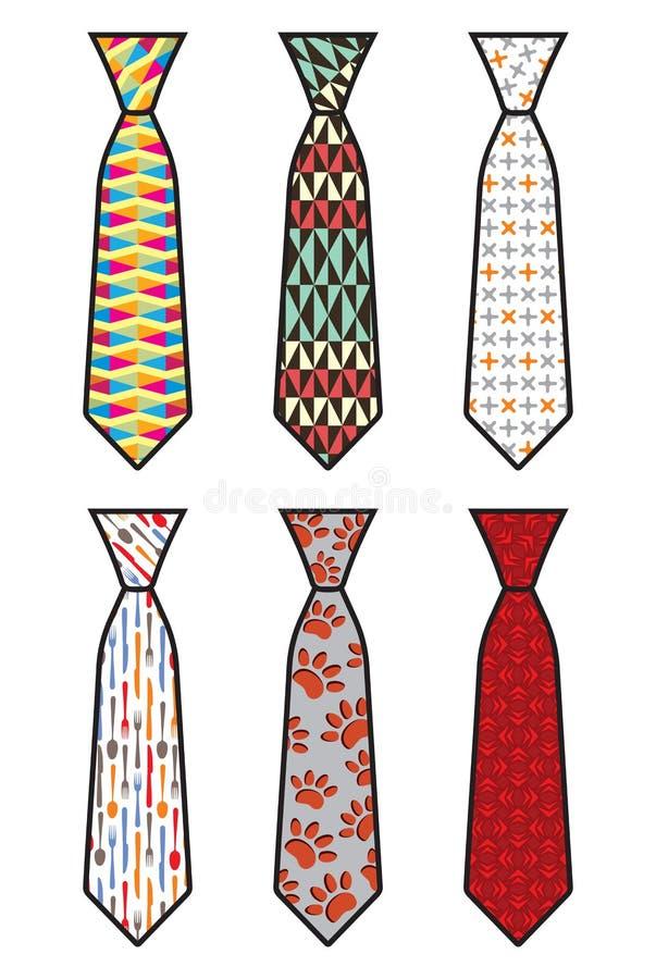 Grupo do laço ilustração stock