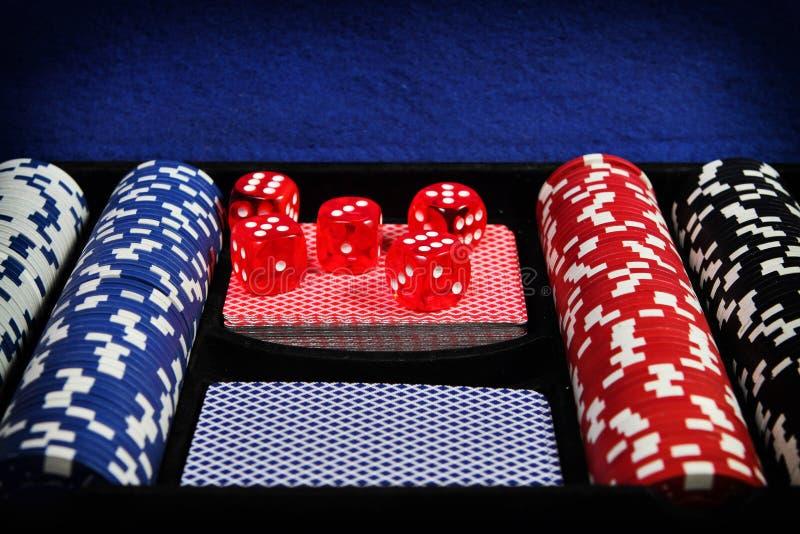 Grupo do pôquer foto de stock royalty free