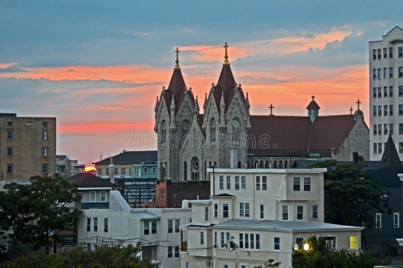 Grupo do sol de Atlantic City imagens de stock royalty free