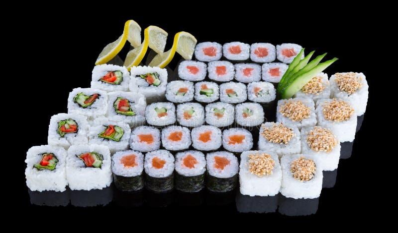 Grupo do sushi fotos de stock