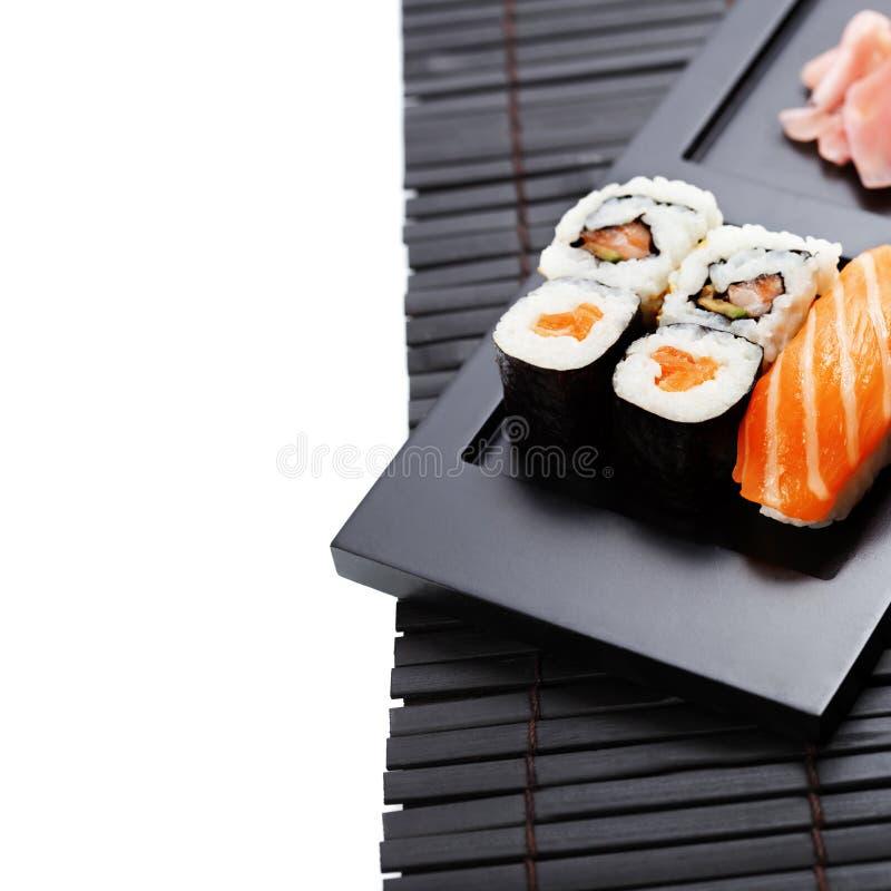 Grupo do sushi fotos de stock royalty free