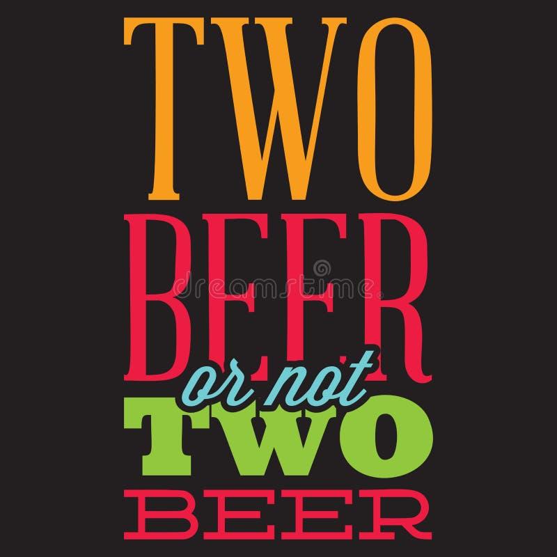 Grupo do vetor de cita??es estilizados no assunto da cerveja Texto da cor em um fundo preto ilustração royalty free