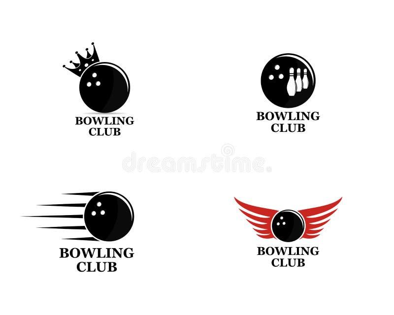 Grupo do vetor de logotipos de rolamento, de emblemas de rolamento do logotipo e de logotipo de rolamento ilustração royalty free