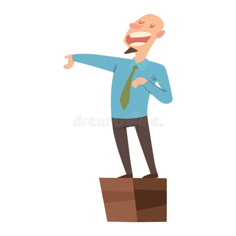 Grupo do vetor dos povos dos políticos ilustração stock