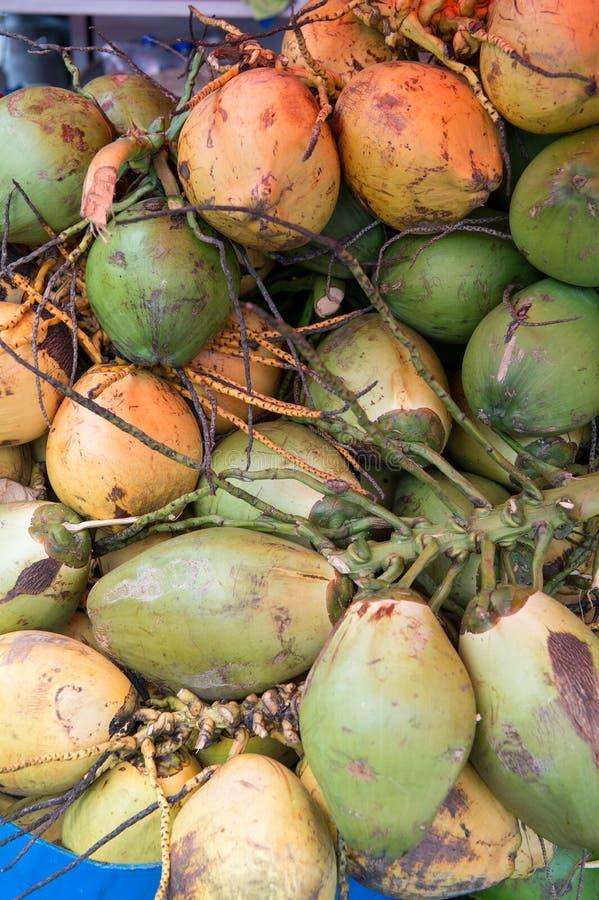 Download Grupo dos cocos imagem de stock. Imagem de orgânico, frutas - 80101061