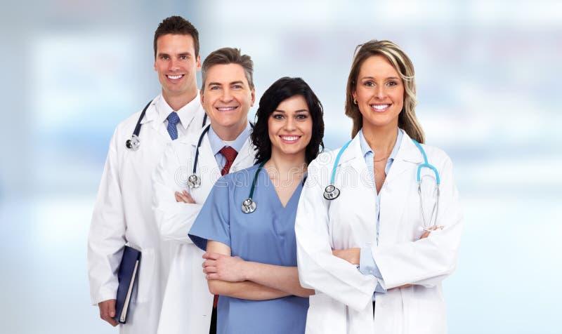Grupo dos doutores foto de stock royalty free