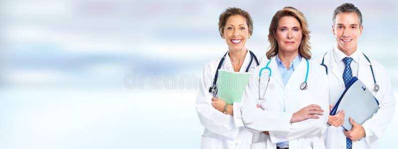 Grupo dos doutores fotos de stock