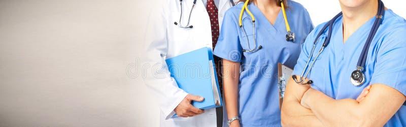 Grupo dos doutores imagem de stock royalty free