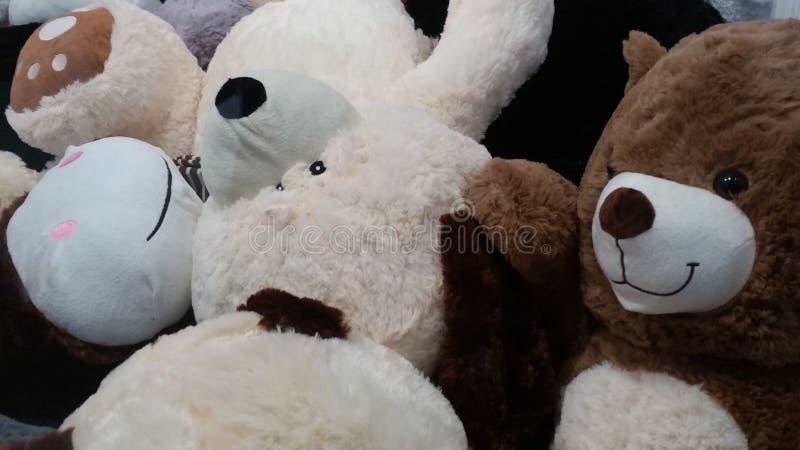 Grupo dos ursos fotografia de stock