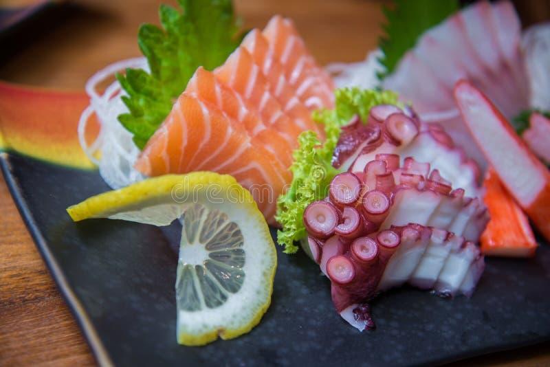 Grupo japonês do sushi imagens de stock