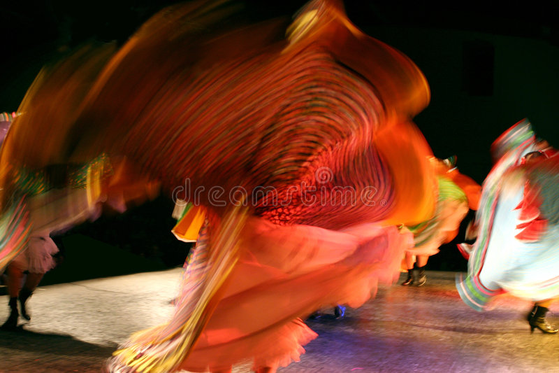 Grupo mexicano da dança fotos de stock royalty free